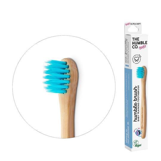 Humble Brush Ekologisk Tandborste Baby Blå 1