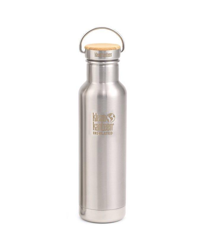 Klean Kanteen - Vattenflaska Rostfritt Stål Bambu Reflect 532 ml 1