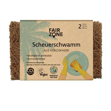FairZone - Skursvamp i Kokosfiber 1