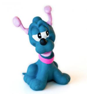 Lanco Naturgummi Bitleksak Hund Pluto
