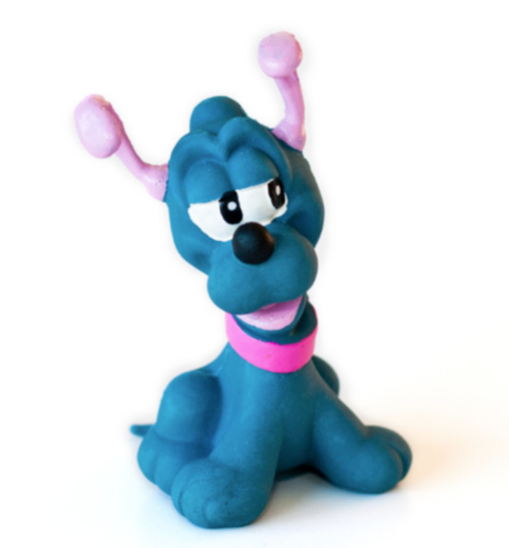Lanco Naturgummi Bitleksak Hund Pluto 1