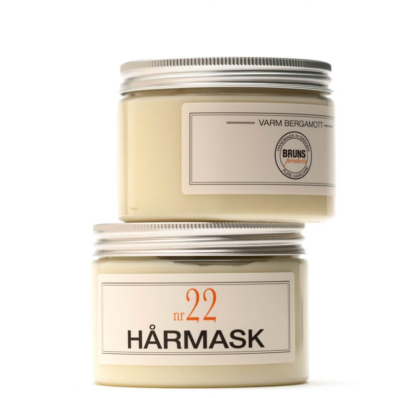 Bruns Products - Hårmask 22 Varm Bergamott 1