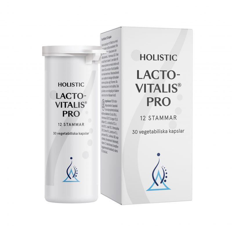 LactoVitalis Pro, 30 kapslar från Holistic 1