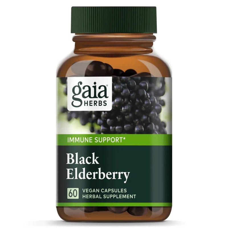 Gaia Herbs Black Elderberry 1