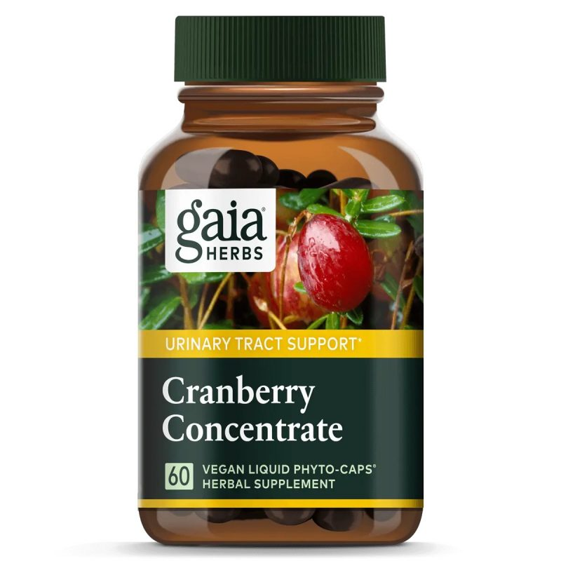 Gaia Herbs Cranberry Concentrate 1