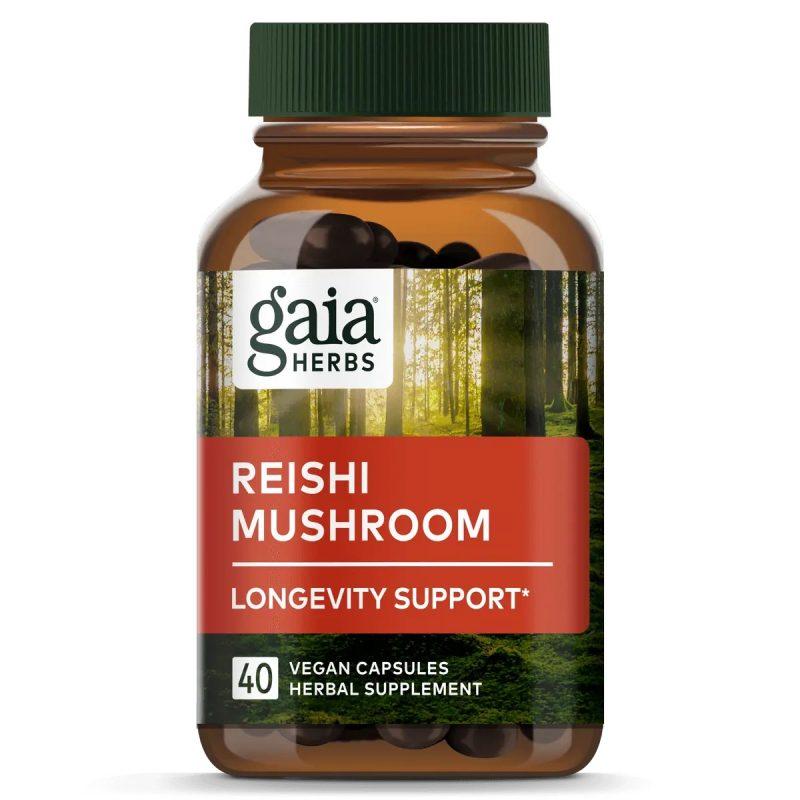 Gaia Herbs Reishi Mushroom 1