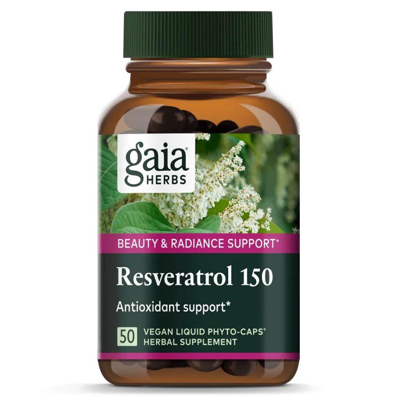Gaia Herbs Resveratrol 150 1