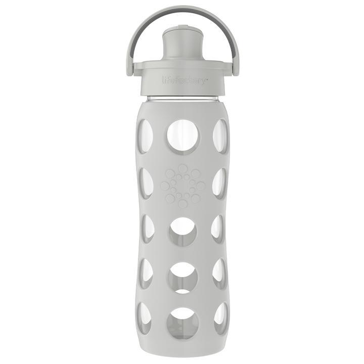 Lifefactory - Vattenflaska Active Cap Stone Gray 475 ml 1