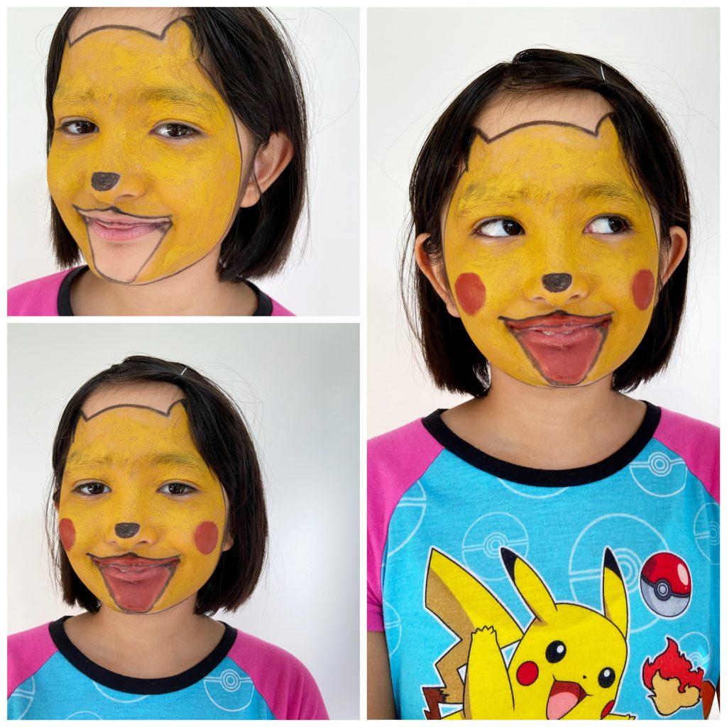 3 enkla och roliga halloween-sminkningar för barn 5
